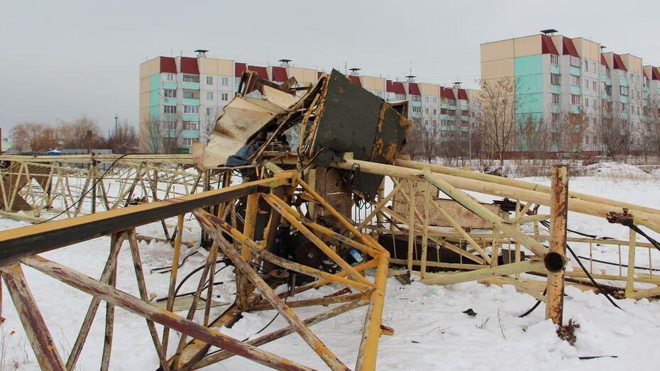 Владельцы упавшего под Воронежем крана: «Перед падением был непонятный маневр»