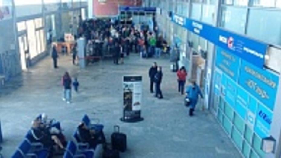 Новые залы ожидания воронежского аэровокзала откроются в июле
