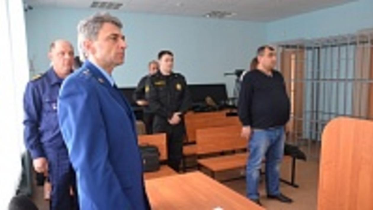 1,5 года тюрьмы получил житель Воронежской области за нападение на рыбинспектора