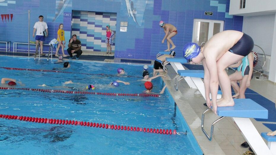 В Верхней Хаве прошло открытое первенство района по плаванию