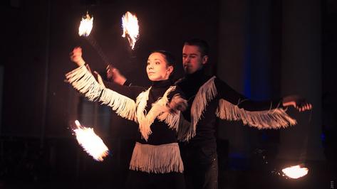 Воронежцев пригласили на бесплатное фаер-шоу