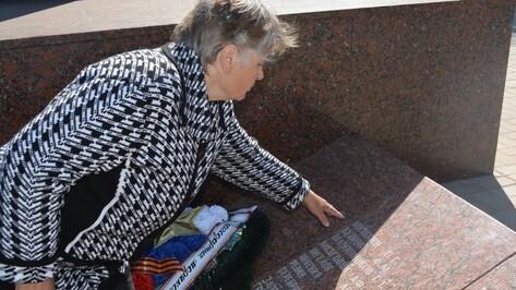 Житель Калачеевского района помог увековечить имя земляка на мемориале