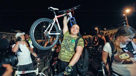 Воронежец подарит велосипед участнику Велоночи