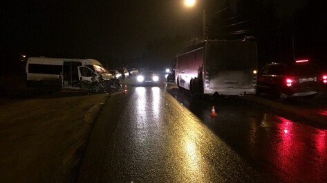 Полиция озвучила подробности ДТП с пассажирским «ЛиАЗом» в Воронеже
