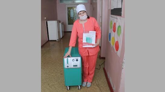 В Петропавловской райбольнице появился кислородный концентратор