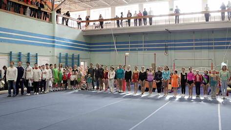 В Воронеже спортсмены с синдромом Дауна посоревновались в гимнастике