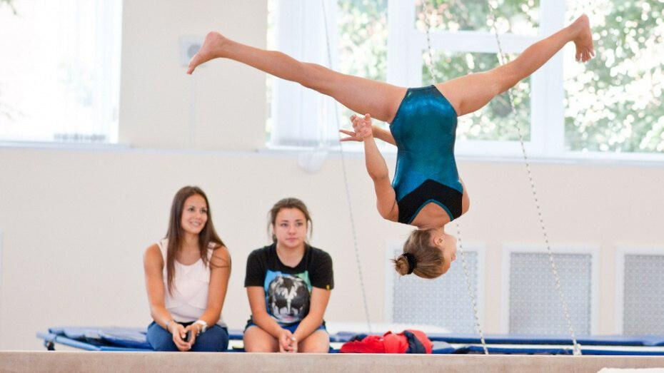 Воронежская гимнастка Ангелина Мельникова вернулась к тренировкам
