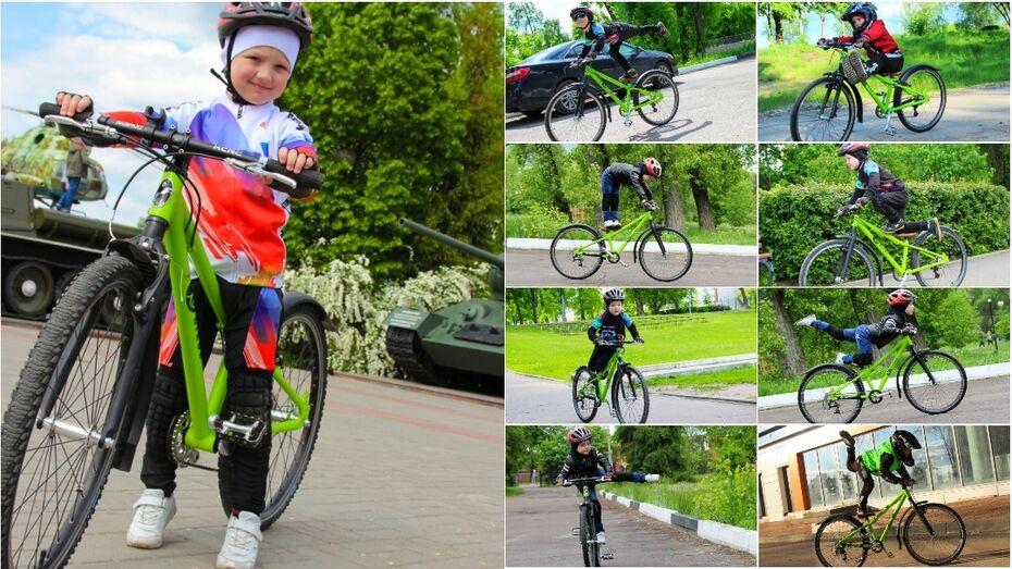 Новый мировой рекорд установил 4-летний велосипедист из Воронежа
