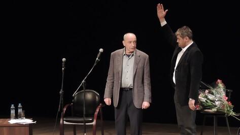 Валентин Гафт и Андрей Аверьянов позабавили воронежцев эпиграммами на звезд шоу-бизнеса