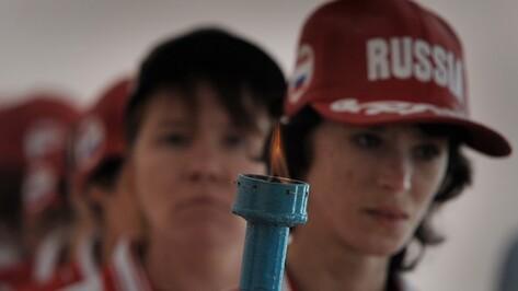 В психоневрологическом интернате зажгли олимпийский огонь