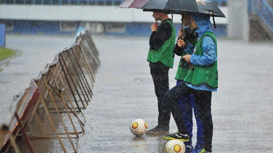 Дожди зальют Воронежскую область в выходные