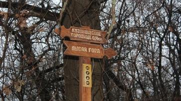 На Большой воронежской экотропе установили навигационные знаки