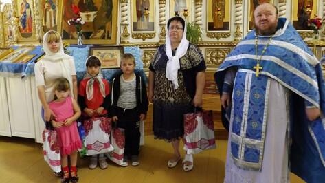 В Верхнем Мамоне завершилась благотворительная акция «Собери ребенка в школу»