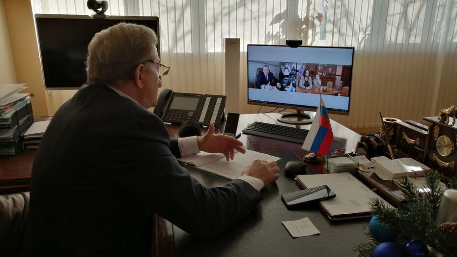 Воронежский сенатор Сергей Лукин провел прием семей с детьми