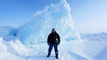 Полярник из Воронежа проведет 3 недели на дрейфующей льдине