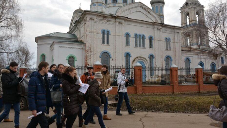 Студенты ВГАСУ присмотрелись к кантемировским паркам