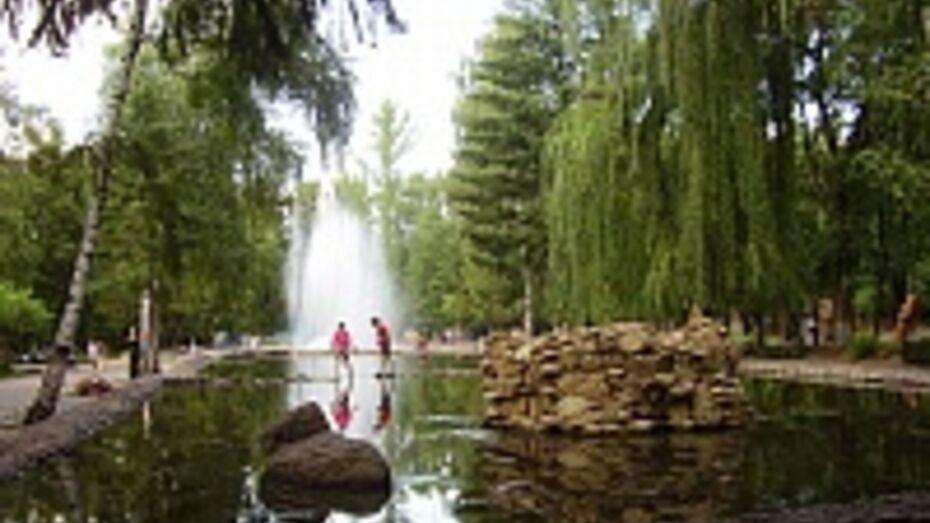 В субботу парке Авиастроителей в Воронеже включат фонтаны