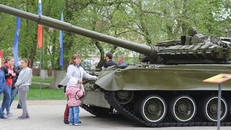 В Боброве открылся музей военной техники