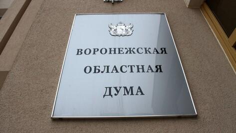 Состав Воронежской облдумы поменяется на 50% в 2020 году