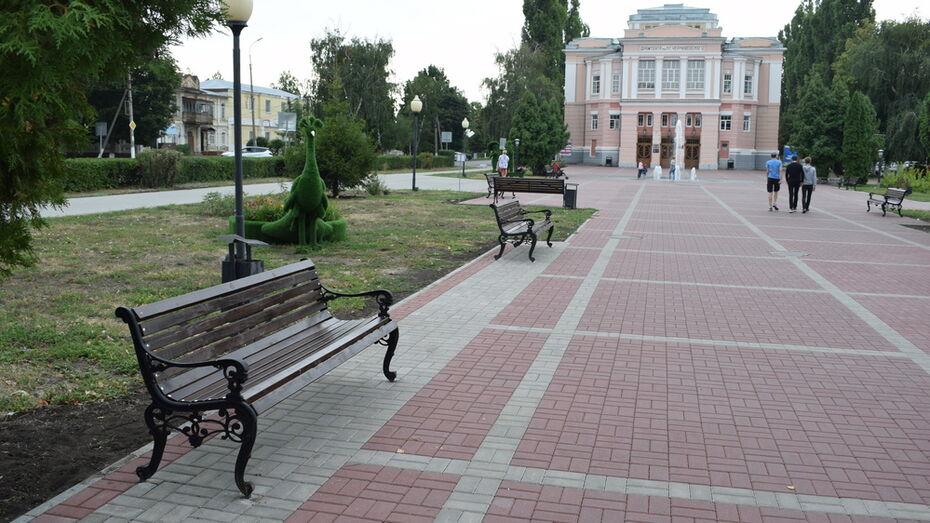 В Борисоглебске на благоустройство Театрального сквера потратят около 1 млн рублей