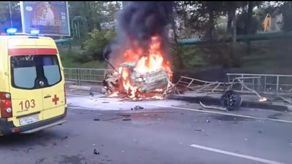 Жительница Воронежа погибла после ДТП в Адлере