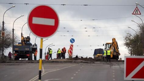 Виадук на 9 Января частично перекрыли в Воронеже