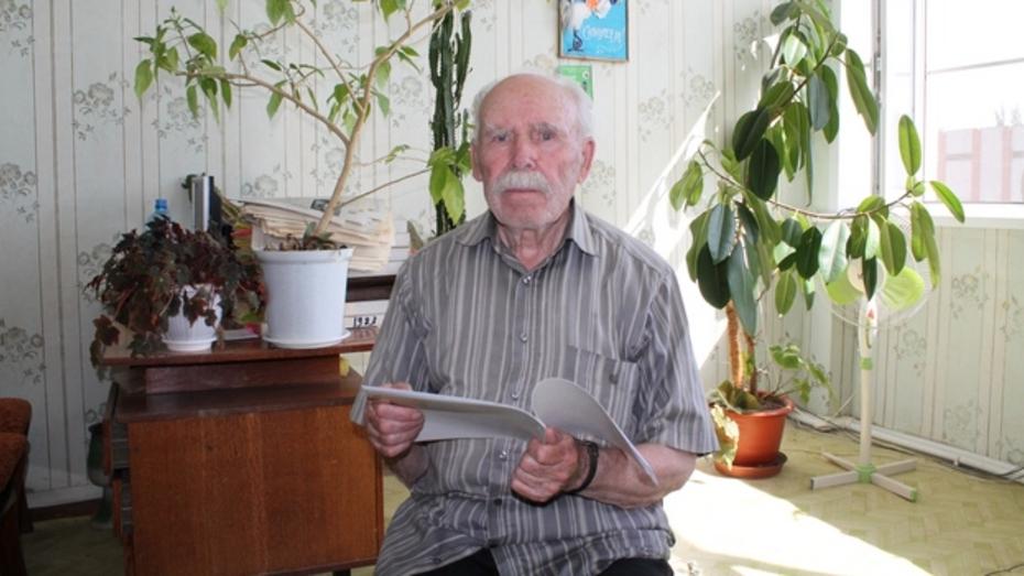 Житель Хохольского района написал историю своего села