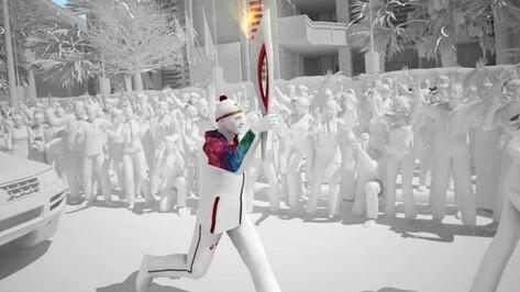 Олимпийский огонь привезут в Воронежскую область на поезде