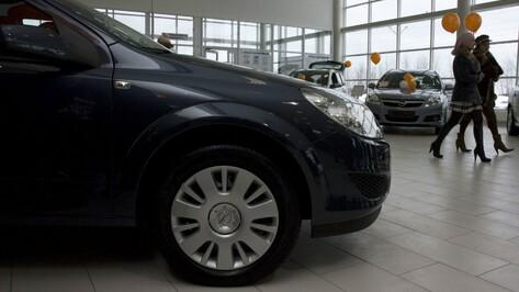 Продажи новых автомобилей в Воронеже упали почти на 48 %