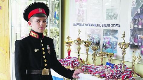 Воронежский 15-летний кадет стал чемпионом мира по боям без правил
