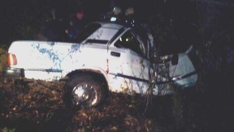Воронежец на «Волге» врезался в дерево и погиб