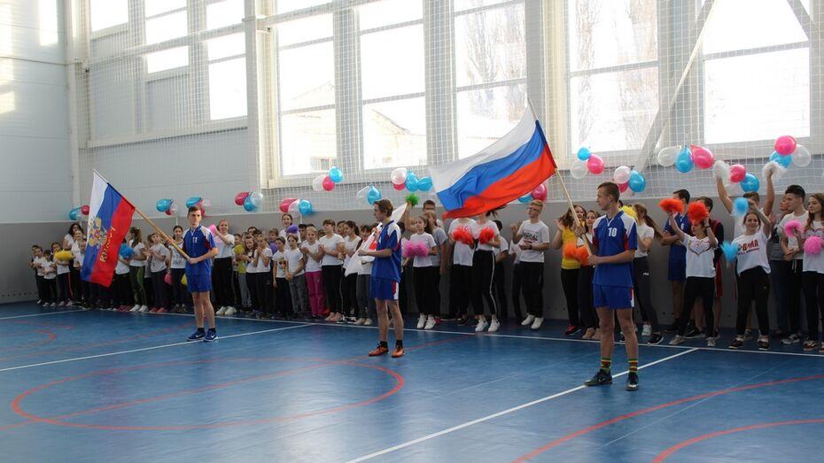 В ольховатской слободе Шапошниковке открыли спортзал