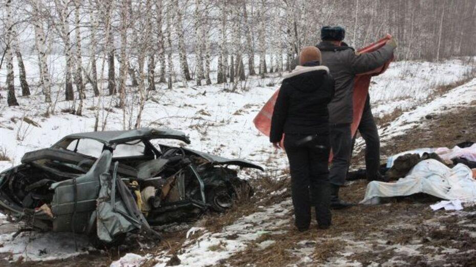 В Хохольском районе в ДТП погибло двое мужчин