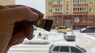 Расписать окна к Новому году предложили жителям Бобровского района