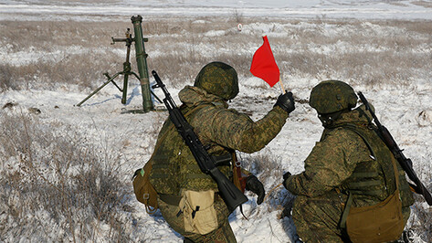 Воронежские военные отработают корректирование огня с помощью беспилотников