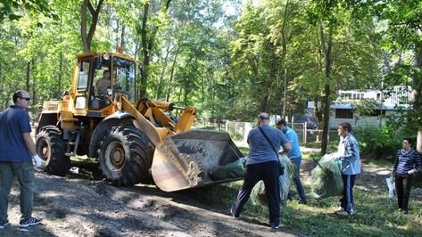Общегородская акция «Чистая земля» собрала 220 тыс воронежцев в 2016 году