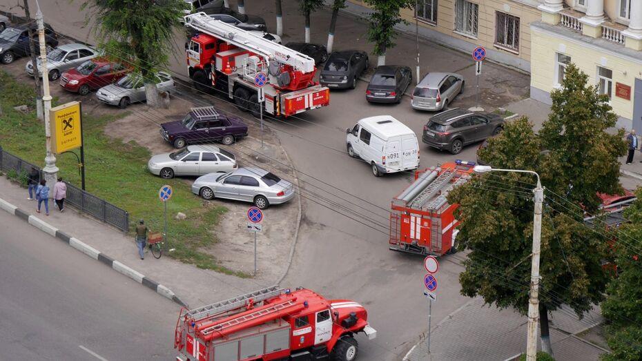 В воронежской больнице произошел пожар