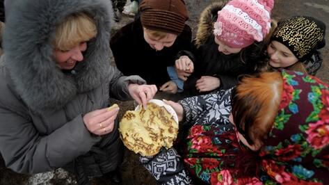Воронежские спасатели проведут Масленицу для украинских переселенцев