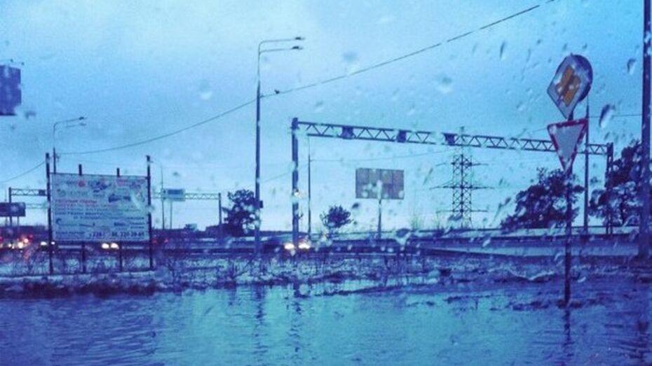 Взгляд из соцсетей: Февральский ливень в Воронеже