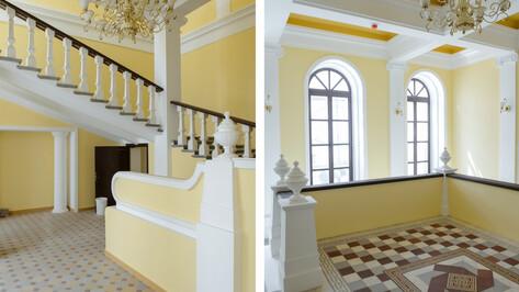 В обновленном Доме Вигеля завершили внутреннюю отделку