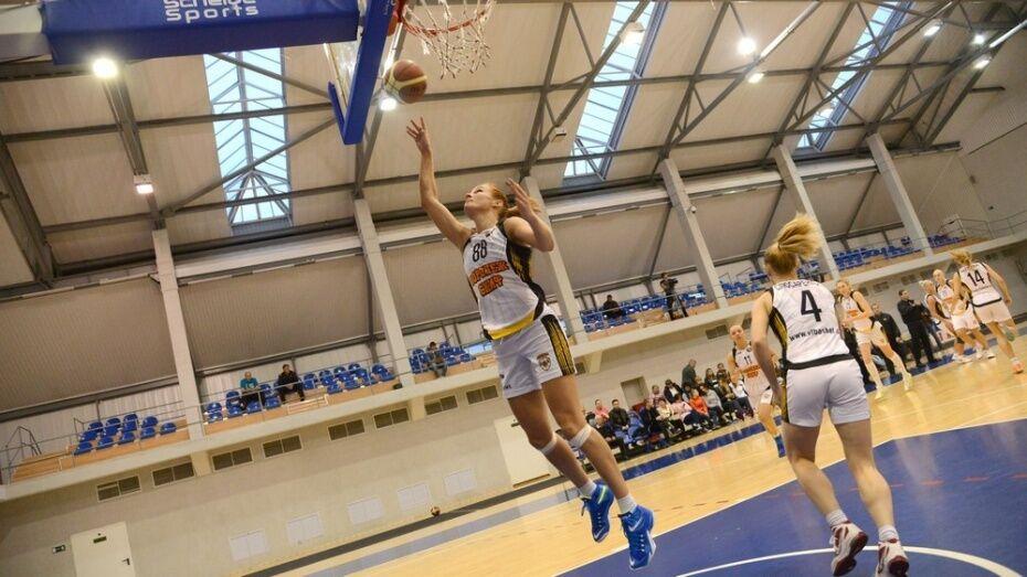 Воронежские баскетболистки вышли в полуфинал Суперлиги