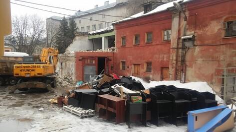 В центре Воронежа начался снос исторического здания Пятницкой церкви