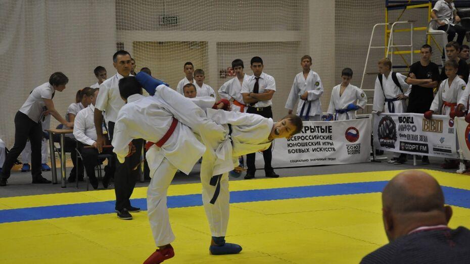 Воронежцы завоевали 14 медалей на чемпионате России по карате