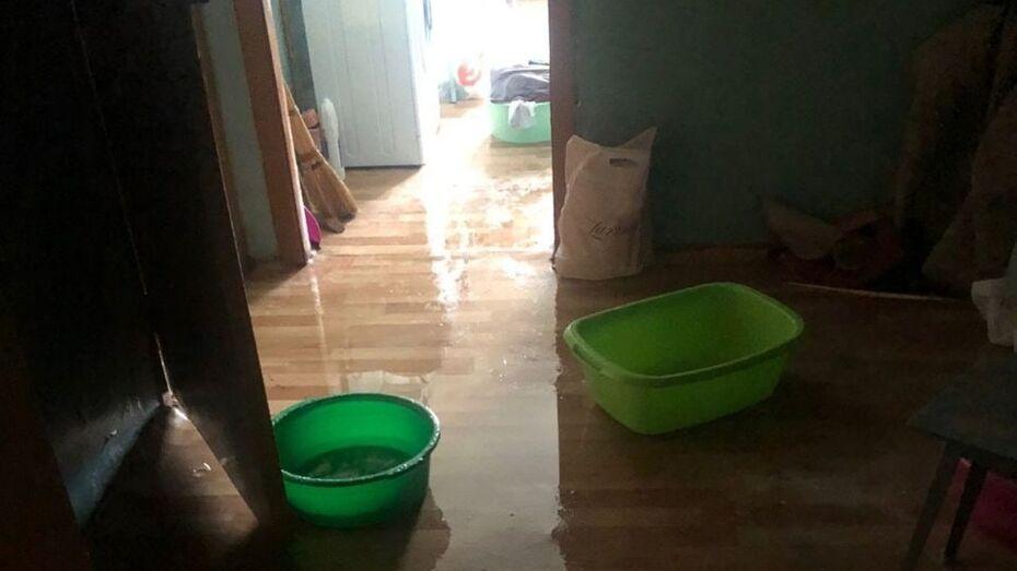 Студентов воронежского медуниверситета переселили из затопленных комнат общежития