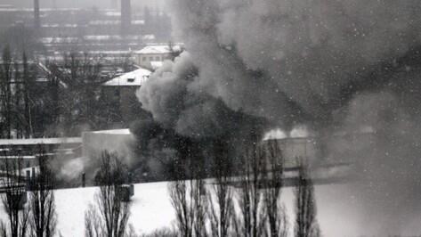 Пожар на хладокомбинате в Воронеже потушили усилиями 75 спасателей