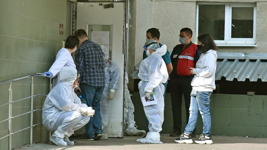 Треть случаев коронавируса в области пришлась на Воронеж