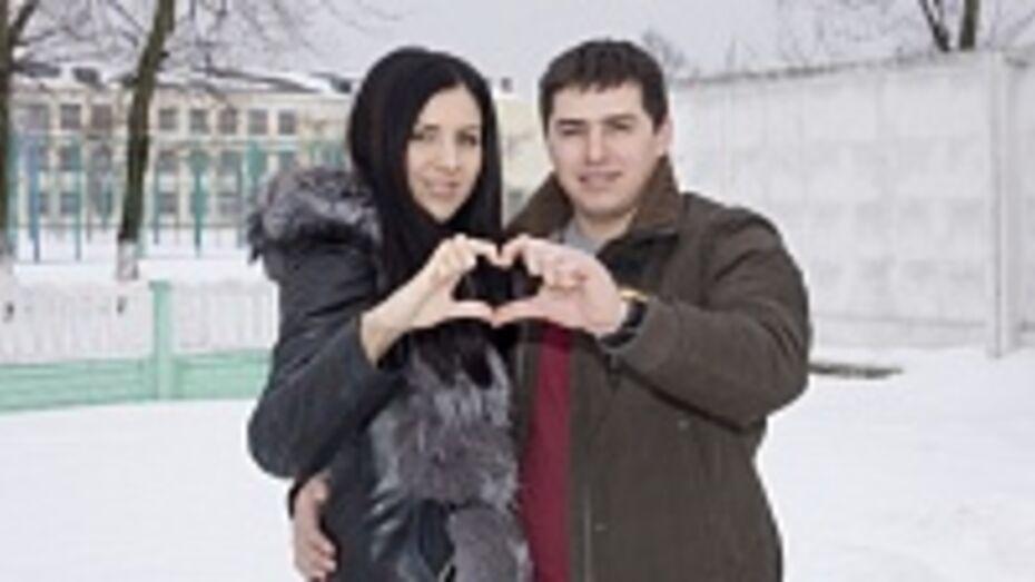В Лискинском районе для восьми пар влюбленных 14 февраля стало семейным праздником