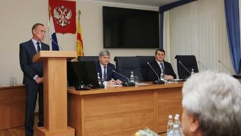 Депутаты Воронежской гордумы получили удостоверения