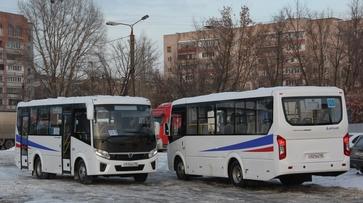 В Воронеже на маршрут №125 вышли 6 «ПАЗов»
