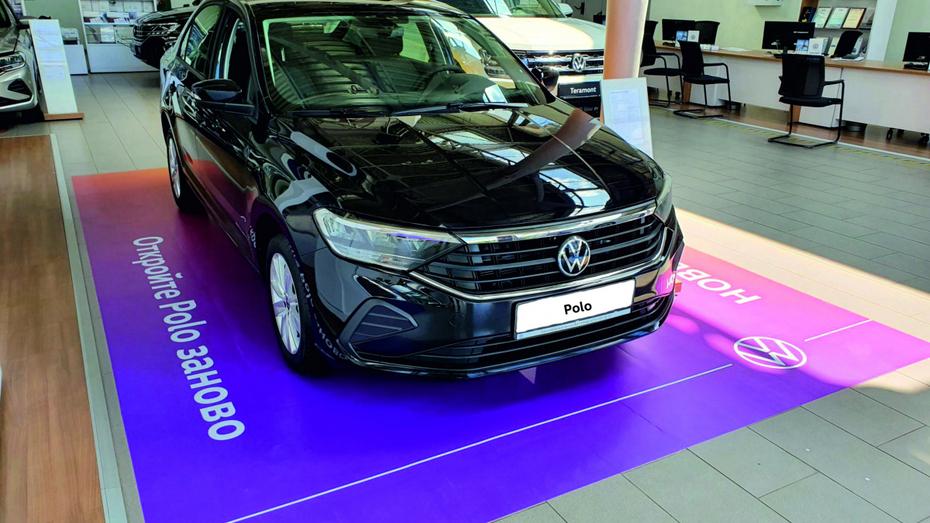 Воронежские автолюбители смогут пройти тест-драйв нового Volkswagen Polo